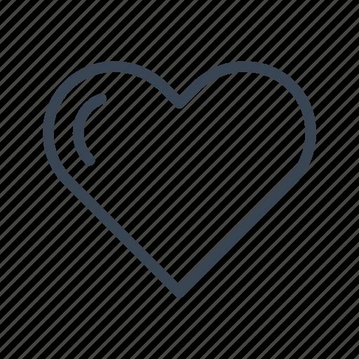 heart, love, romantic, valentine's day icon