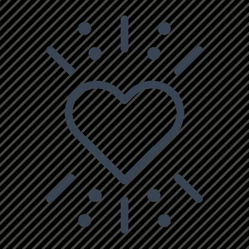 heart, love, passion, valentine's day icon