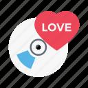 love, cd, romance, heart, disc