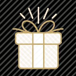 box, celebration, gift, present, wedding icon