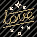 lettering, love, script, valentine, wedding