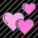 heart, hearts, love, valentine, valentines day icon