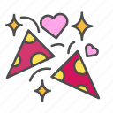 heart, love, party, valentine, valentines day icon
