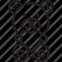 bear, gift, love, present, teddy bear icon