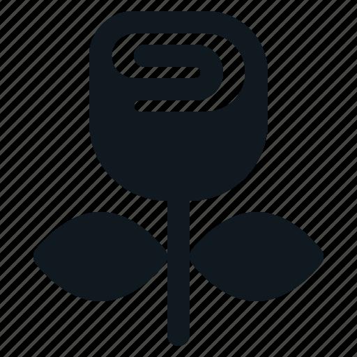 Flower, heart, love, rose, valentine icon - Download on Iconfinder