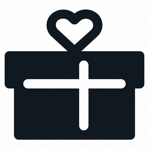Box, gift, heart, love, valentine icon - Download on Iconfinder