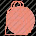 bag, heart, love, market, romance, valentines, wedding icon