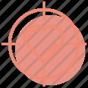 focus, heart, love, romance, target, valentines, wedding icon