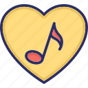audio, entertainment, music, music note icon