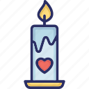 advent candle, burning candle, candle, christmas candle, decoration icon
