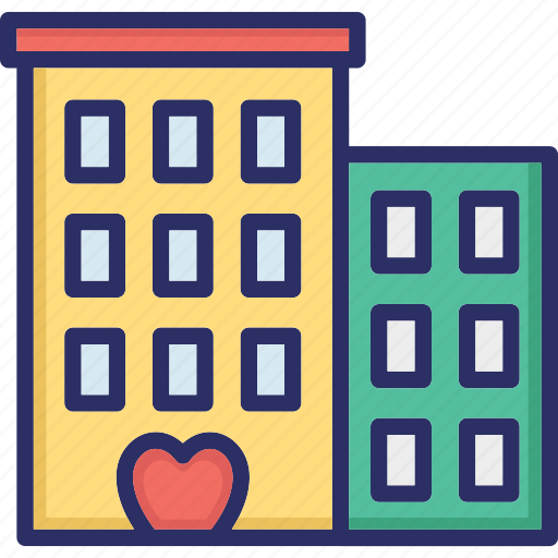 building, building blocks, flats, tower building, trade center icon