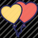 balloon, birthday balloon, decoration balloon, kid balloon, party balloon icon