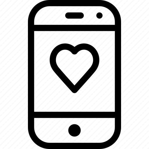 chat, communication, heart, love, message icon