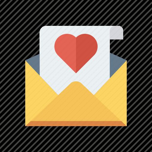 card, greeting, invitation, love icon
