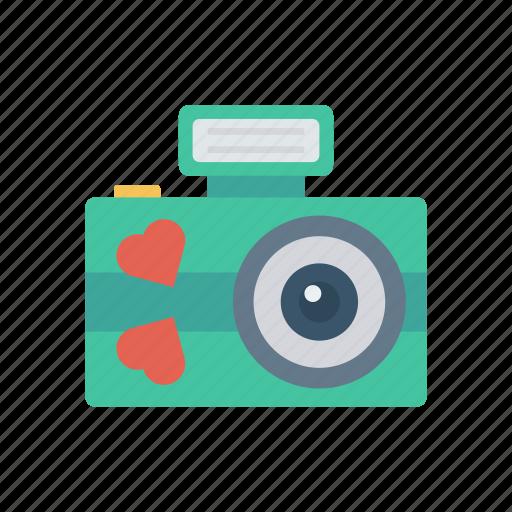 camera, capture, love, shutter icon