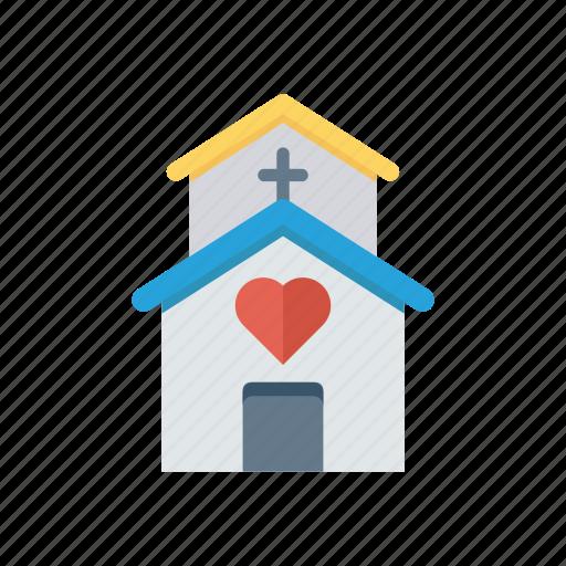 building, church, estate, real icon