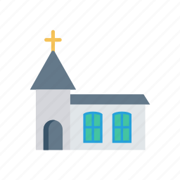 building, catholic, church, love icon