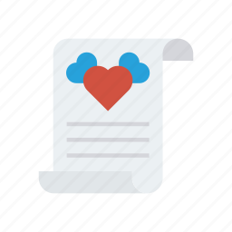 document, flyer, page, paper icon