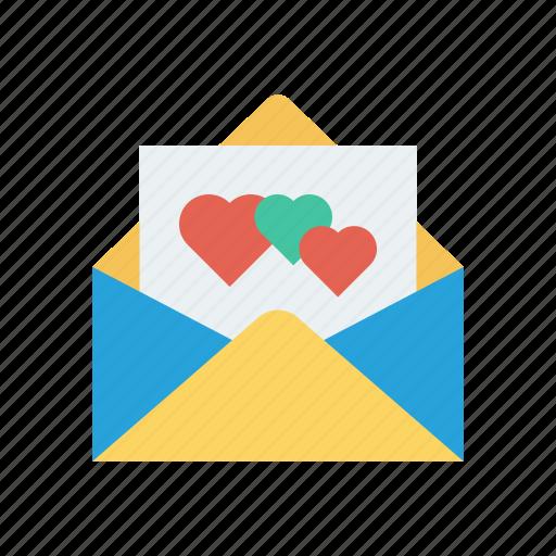 card, envelope, greeting, invitation icon