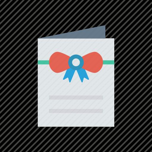 card, flyer, greeting, invitation icon