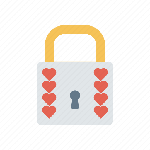 lock, love, protect, secure icon