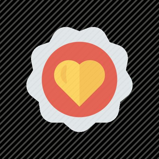 Heart, love, romance, sticker icon - Download on Iconfinder