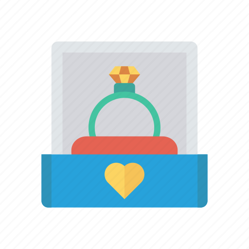 Diamond, engagement, jewel, ring icon - Download on Iconfinder