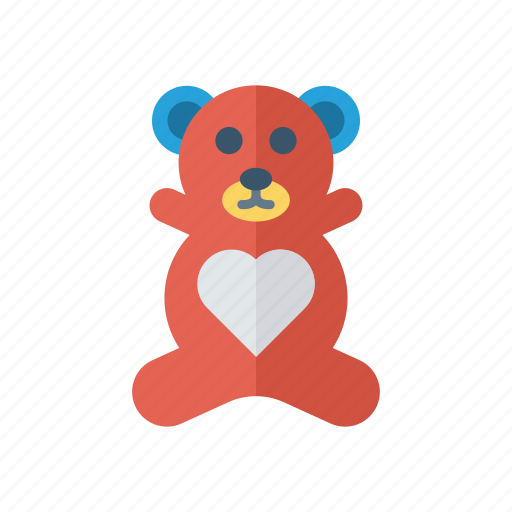 Bear, gift, teddy, toy icon - Download on Iconfinder