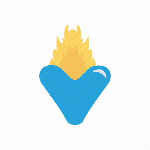 Fire, flame, hot, torch icon - Download on Iconfinder