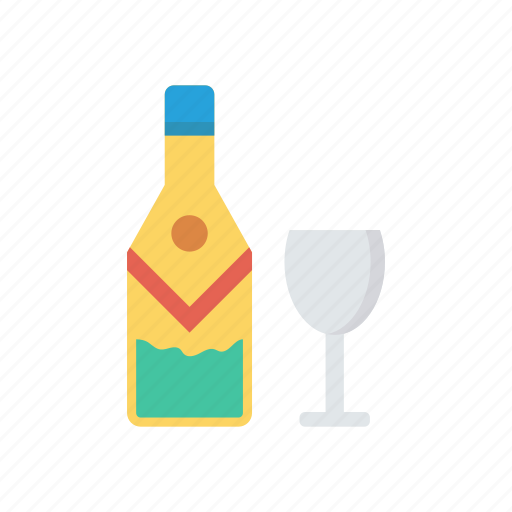 beer, champagne, glass, wine icon