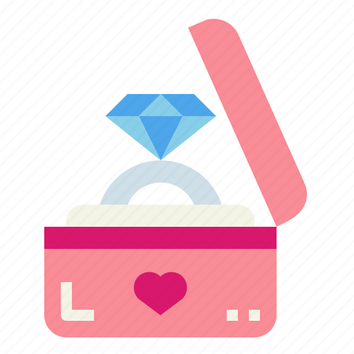 Diamond, engagement, jewelry, ring icon - Download on Iconfinder