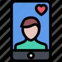 boyfriend, avatar, soulmate, man icon