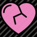 broken, heart, love, romance, romantic