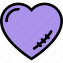 heart, love, romance, scar, wedding icon