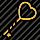 key, lock, love, romance, romantic