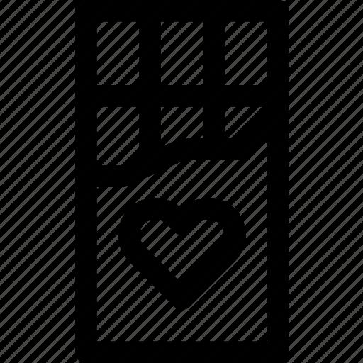 chocolate, food, heart, love, passion, sweet, valentine icon
