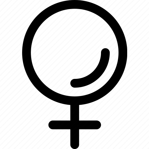 Gender, woman, female, sex, affection icon