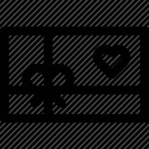 anniversary, gift, love, passion, present, romance, surprise icon