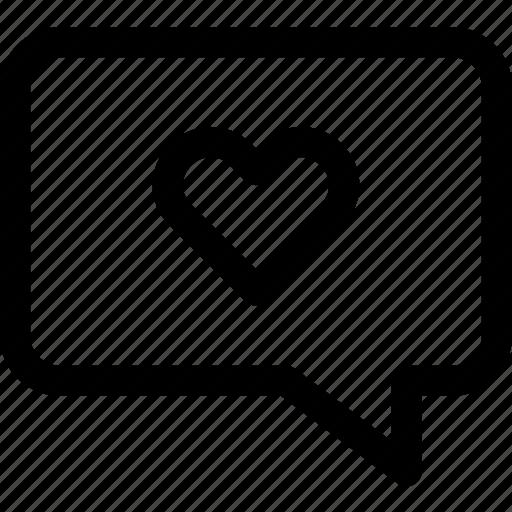 confession, love, message, romance, speak, talk, valentine icon