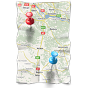 directions, gps, location, map, navigation icon