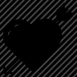 arrow, cupids, love, valentine icon