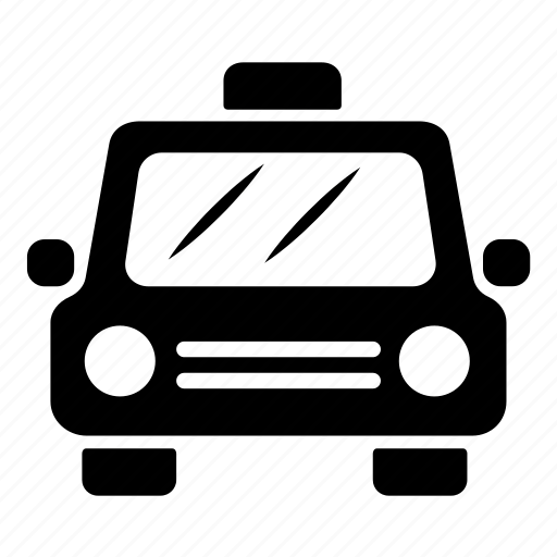 auto, cab, taxi, transport, vehicle icon