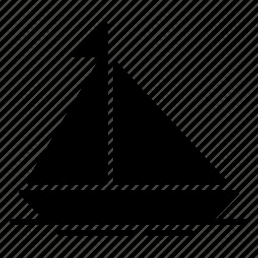 boat, sail, sailing, ship, yacht icon