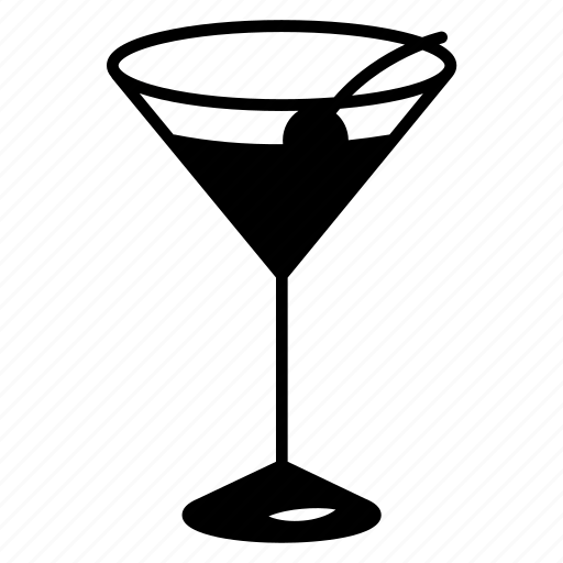 cocktail, drink, glass, martini icon