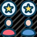 loyalty, star, user, favorite, best