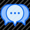 communication, chat, message, bubble