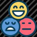 loyalty, feedback, emoji, review, survey