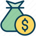 loyalty, money, bag, payment, cash, dollar