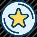 loyalty, star, favorite, premium, rating, ranking