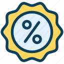 loyalty, discount, sale, percent, badge, price, shopping